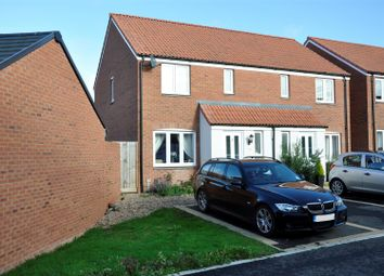 Thumbnail 3 bed semi-detached house for sale in Inner Westland, Cranbrook, Exeter