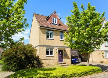 Thumbnail 4 bedroom link-detached house for sale in Demoiselle Crescent, Ipswich