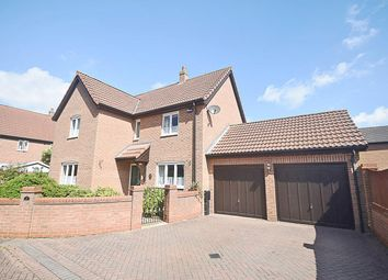 Thumbnail 4 bed detached house for sale in Blackberry Close, Dereham