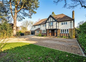 Thumbnail 6 bed detached house for sale in Roundwood Park, Harpenden, Hertfordshire