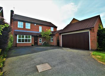 Thumbnail 4 bed detached house for sale in Surrey Close, Burbage, Hinckley