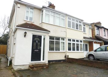 Thumbnail 4 bed semi-detached house to rent in Primrose Glen, Hornchurch