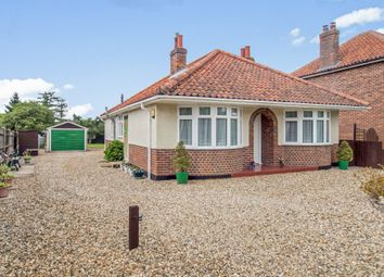 Thumbnail 3 bed detached bungalow for sale in Norwich Road, Wymondham
