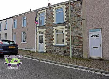 Thumbnail 3 bed terraced house for sale in Grover Street, Pontypridd