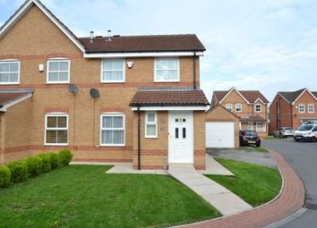 Thumbnail 3 bed semi-detached house for sale in Highfield Close, Dunscroft, Doncaster