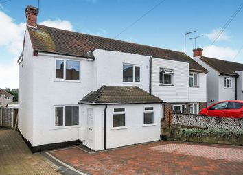 Thumbnail 4 bed semi-detached house for sale in Swanley Lane, Swanley, Kent