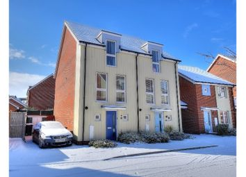 Thumbnail 3 bed semi-detached house for sale in Holly Blue Mews, Norwich