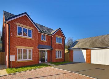 Thumbnail 4 bed detached house for sale in Picca Close, St Lythans, Cardiff