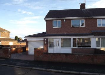 Thumbnail 3 bed semi-detached house to rent in Leesfield Gardens, Meadowfield, Durham