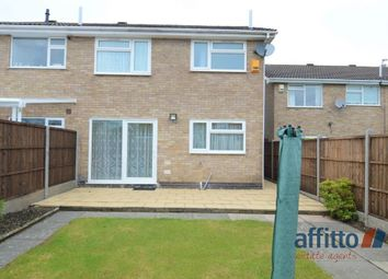 Thumbnail 3 bed semi-detached house to rent in Blakesley Walk, Leicester