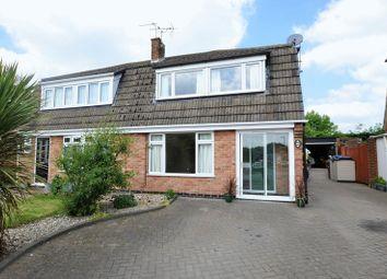 Thumbnail 3 bed semi-detached house for sale in Jordan Avenue, Stretton, Burton-On-Trent