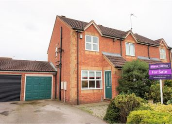 Thumbnail 2 bed semi-detached house for sale in Peartree Close, Selby
