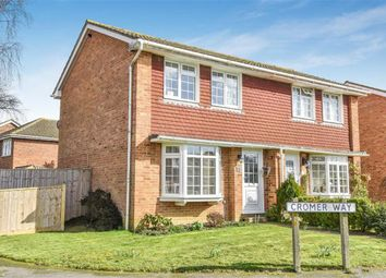 Thumbnail 2 bed semi-detached house for sale in Cromer Way, Hailsham