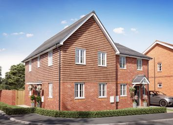 Thumbnail 3 bed semi-detached house for sale in Maddoxford Lane, Botley, Southampton