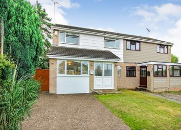 Thumbnail 3 bed semi-detached house for sale in Carisbrooke Crescent, Hamworthy, Poole
