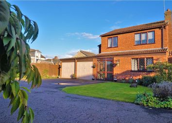 Thumbnail 4 bed detached house for sale in Knights Close, Leverington