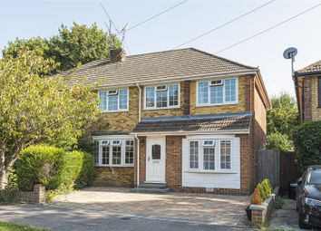 Thumbnail 5 bed semi-detached house for sale in Hinton Close, Crowthorne, Berkshire