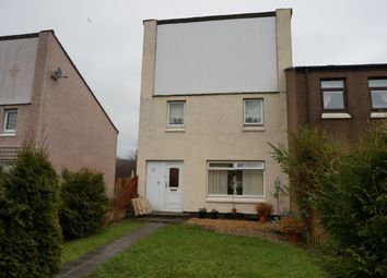 Thumbnail 3 bed end terrace house for sale in Netherwood Court, Cumbernauld