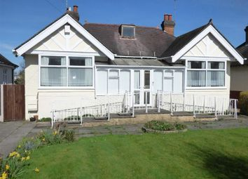 Thumbnail 3 bed detached bungalow for sale in Rickerscote Road, Stafford