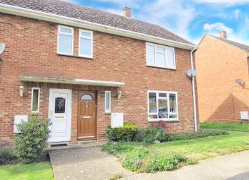 Thumbnail 2 bedroom semi-detached house for sale in Liberator Road, Upwood, Huntingdon