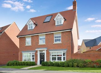 Thumbnail 5 bedroom detached house for sale in Burgattes Road, Little Canfield, Dunmow