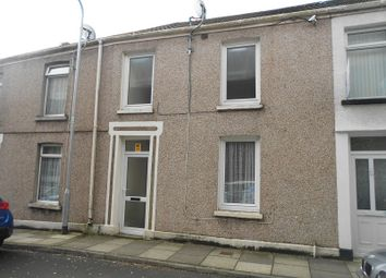 Thumbnail 3 bed terraced house for sale in Llewellyn Street, Port Talbot, Neath Port Talbot.