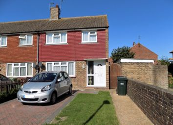 Thumbnail 3 bed end terrace house for sale in Ashington Road, Eastbourne