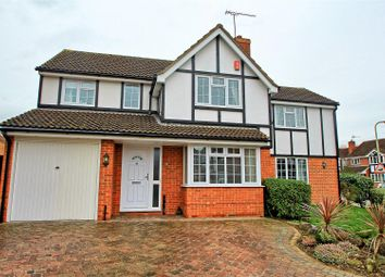 Thumbnail 5 bedroom detached house for sale in Lawrence Avenue, Stanstead Abbotts, Ware