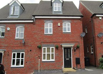 Thumbnail 4 bedroom semi-detached house to rent in Strutts Close, South Normanton, Alfreton