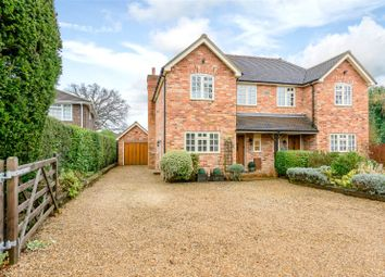 Thumbnail 3 bed property for sale in Baigents Lane, Windlesham, Surrey