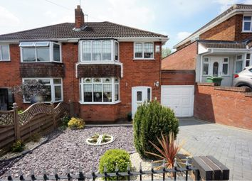 Thumbnail 3 bedroom semi-detached house for sale in Wallows Wood, Lower Gornal