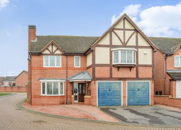 Thumbnail 5 bed detached house for sale in Greenwich Close, Off Groby Road, Leicestershire