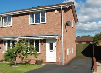 Thumbnail 2 bed semi-detached house for sale in Viscount Avenue, Aqueduct, Telford, Shropshire.