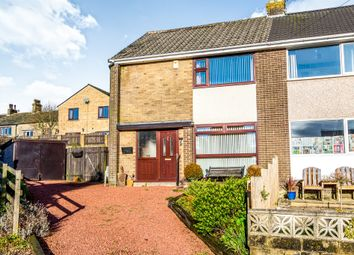 Thumbnail 3 bed semi-detached house for sale in Eastwood Close, Illingworth, Halifax