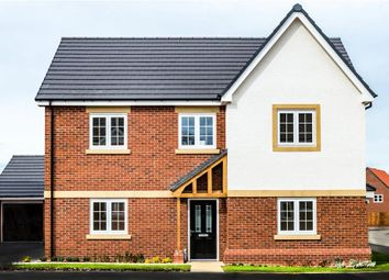 "Thumbnail 4 bed detached house for sale in ""Pentrich"" at Warwick Road, Kibworth, Leicester"