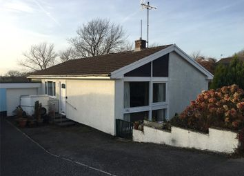 Thumbnail 3 bed bungalow for sale in Upper Hill Park, Tenby, Pembrokeshire