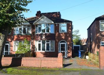Thumbnail 4 bedroom semi-detached house for sale in Marford Crescent, Sale, Greater Manchester