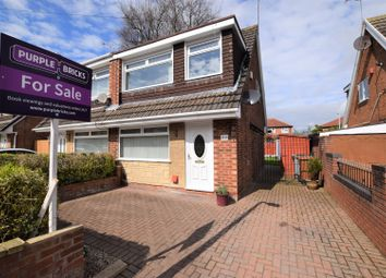 Thumbnail 3 bed semi-detached house for sale in Bramhall Drive, Eastham