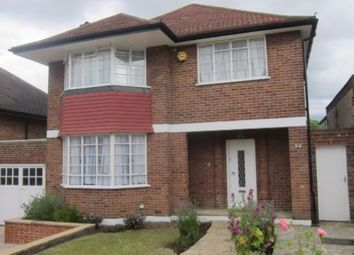 Thumbnail 4 bed detached house to rent in The Ridings, West Acton