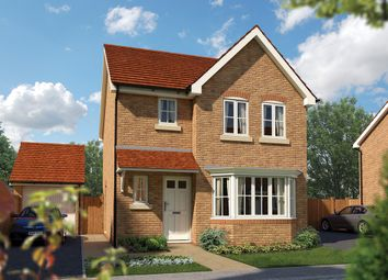 "Thumbnail 3 bed detached house for sale in ""The Epsom"" at Priory Fields, Wookey Hole Road, Wells, Somerset, Wells"