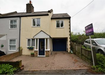 Thumbnail 3 bed end terrace house for sale in Coxtie Green Road, Brentwood