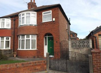 Thumbnail 3 bedroom semi-detached house for sale in Royston Avenue, Denton, Manchester, Greater Manchester