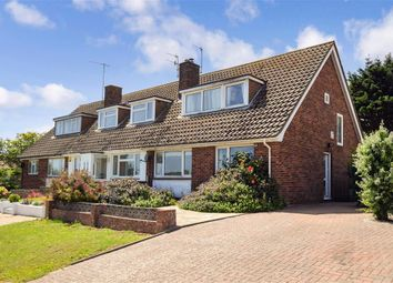 Thumbnail 3 bed semi-detached house for sale in Northwood Avenue, Saltdean, East Sussex