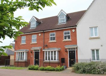 Thumbnail 3 bed town house for sale in Bull Drive, Grange Farm, Kesgrave, Ipswich