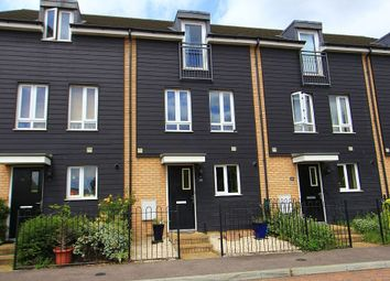 Thumbnail 3 bed town house for sale in The Rookery, Grays, Essex