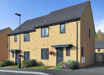 "Thumbnail 3 bed semi-detached house for sale in ""The Elliot"" at Field Road, Ramsey, Huntingdon"