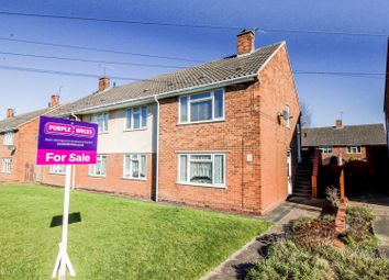 Thumbnail 2 bed flat for sale in Newman Avenue, Lanesfield, Wolverhampton