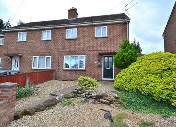 Thumbnail 2 bed semi-detached house for sale in Sandringham Road, King's Lynn
