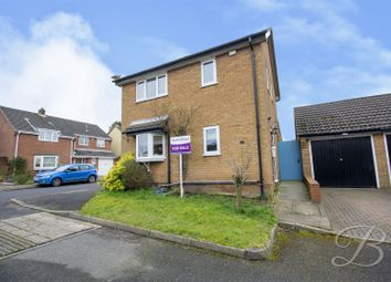 Thumbnail 3 bed detached house for sale in Greendale Close, Warsop, Mansfield