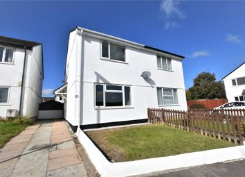 Thumbnail 2 bed semi-detached house for sale in Tamar Close, Callington